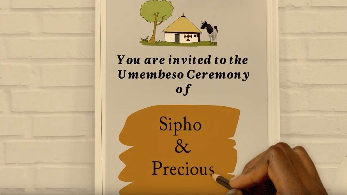 Best Umemulo and Umembeso Video invitation Card 2