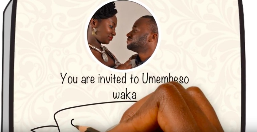 how to make umembeso invitation cards
